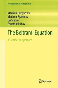 The Beltrami Equation