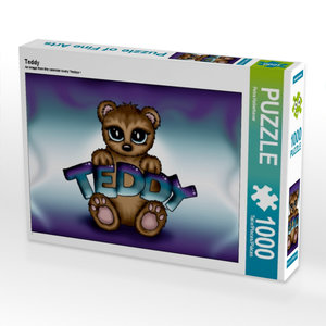 Teddy 1000 Teile Puzzle quer