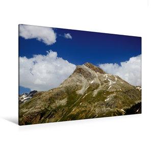 Premium Textil-Leinwand 120 cm x 80 cm quer Piz Alv