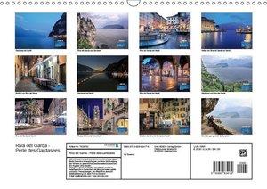 Riva del Garda - Perle des Gardasees (Wandkalender 2019 DIN A3 q