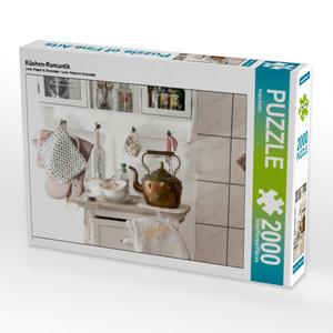 Küchen-Romantik 2000 Teile Puzzle quer