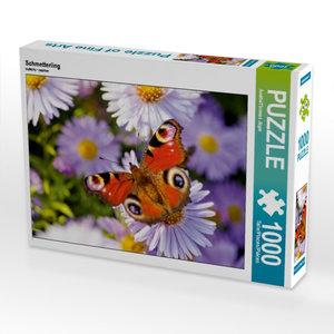 Schmetterling 1000 Teile Puzzle quer