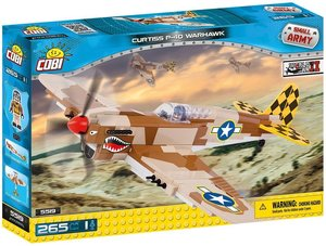 Cobi 5519 - Small Army, Curtiss P-40 Warhawk, Einsitzer-Jagdflug