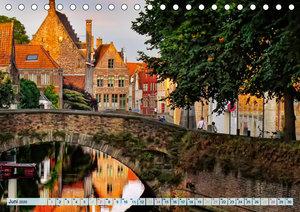 Brügge - Venedig des Nordens (Tischkalender 2020 DIN A5 quer)