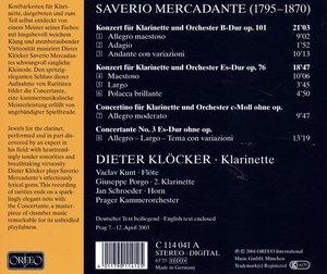 Klarinettenkonzerte op.76/101/Concertante/+