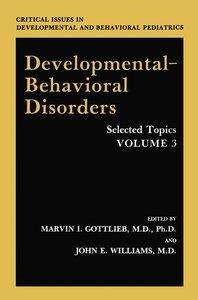 Developmental-Behavioral Disorders