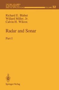Radar and Sonar