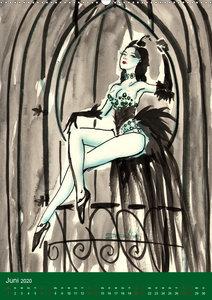 Burlesque fairytales & fantasies Burlesque Märchen (Wandkalender