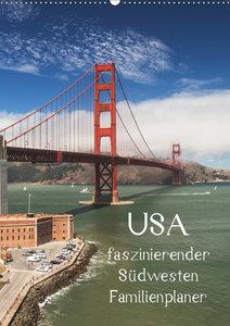 USA / faszinierender Südwesten / Familienplaner (Wandkalender 20