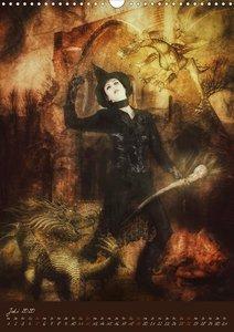 Schattenwesen - Die dunkle Seite der Magie (Wandkalender 2020 DI