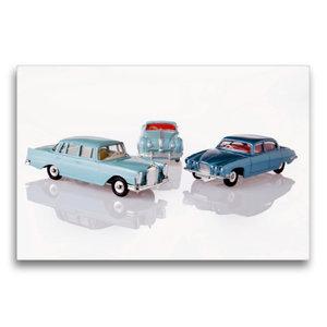 Premium Textil-Leinwand 75 cm x 50 cm quer Dinky Toys Spielzeuga