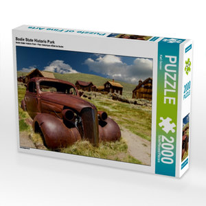 Bodie State Historic Park 2000 Teile Puzzle quer