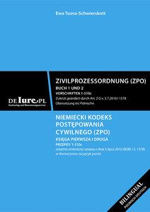 Deutsche Zivilprozesordnung. Buch 1 und 2. Übersetzung ins Polni