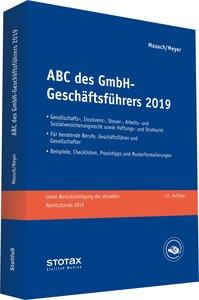 ABC des GmbH-Geschäftsführers 2019