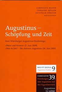 Augustinug, Schöpfung und Zeit