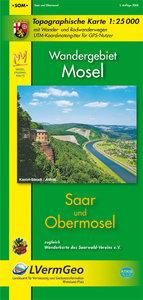 Saar - Obermosel 1 : 25 000