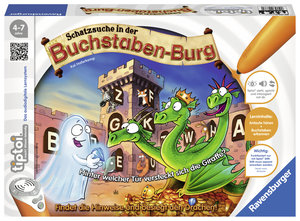 tiptoi® Schatzsuche in der Buchstabenburg