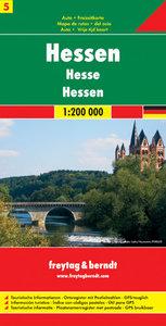 Deutschland 05 Hessen 1 : 200 000