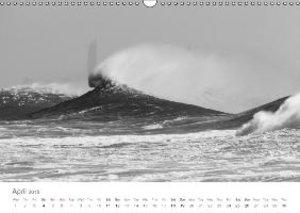 (H2O)12 in B&W (Wall Calendar 2015 DIN A3 Landscape)