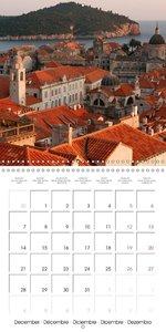 colourful Croatia (Wall Calendar 2015 300 × 300 mm Square)