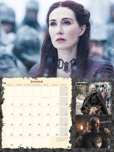Game of Thrones Broschur XL - Kalender 2017