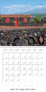 Beautiful Azores (Wall Calendar 2016 300 × 300 mm Square)