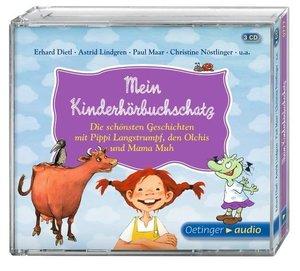 Mein Kinderhörbuchschatz. Die schönsten Geschichten mit Pippi, d