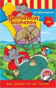Benjamin Blümchen 066 als Ballonfahrer. Cassette