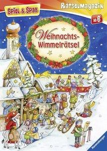 Spiel & Spaß - Rätselmagazin: Weihnachts-Wimmelrätsel