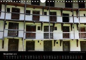 Monuments of Romania 2015 (Wall Calendar 2015 DIN A4 Landscape)