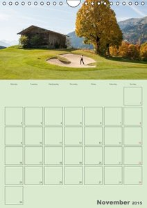 The Golf-Teetime Planner for the whole Year / UK-Version / Organ