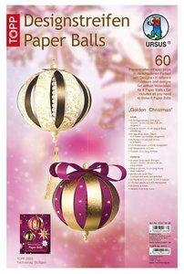 """Paperballs-Weihnachts-Set 4 """"Montmatre"""""""
