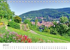 Heidelberg - Heiligenberg und Philosophenweg (Tischkalender 2017