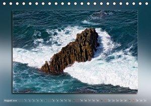 Steine, Felsen und Meer (Tischkalender 2016 DIN A5 quer)
