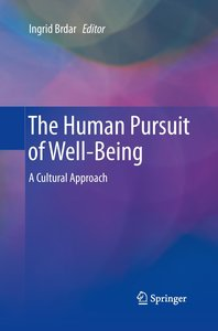The Human Pursuit of Well-Being