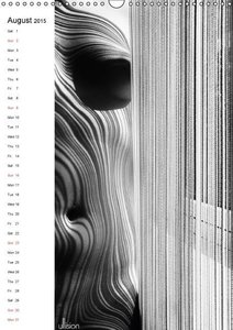 abstract NUDES / UK Version (Wall Calendar 2015 DIN A3 Portrait)
