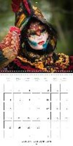 Venetian masks (Wall Calendar 2015 300 × 300 mm Square)