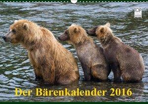 Der Bärenkalender 2016 (Wandkalender 2016 DIN A3 quer)