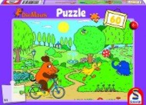 Die Maus: Ein Tag im Park. Puzzle 60 Teile