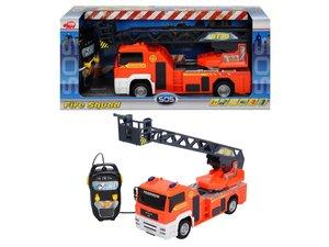 Dickie-Spielzeug 203442314 - RC Feuerwehr Leiterwagen, 35 cm