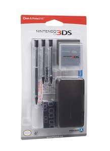 Nintendo 3DS - Clean and Protect Kit