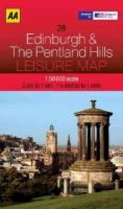Leisure Map WK 28 Edinburgh 1 : 50 000