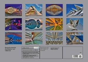 Beeindruckende Architektur von Valencia (Posterbuch DIN A2 quer)