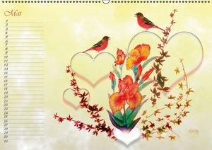 Liebe bedeutet Leben (Wandkalender 2016 DIN A2 quer)