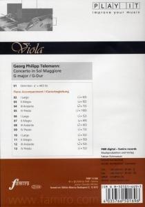Concerto in Sol Maggiore, G-Dur