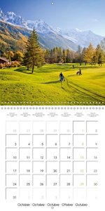 Golf Putter's Paradise (Wall Calendar 2016 300 × 300 mm Square)