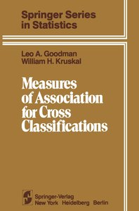 Measures of Association for Cross Classifications