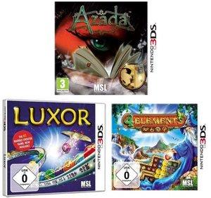 Nintendo 3DS: Gem Edition (3in1 Azada+Luxor+4 Elements)
