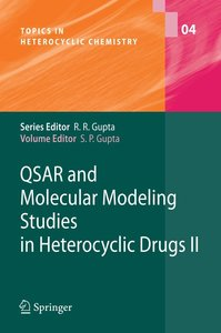 QSAR and Molecular Modeling Studies in Heterocyclic Drugs 2