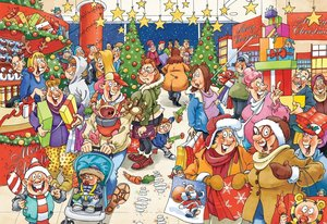 Jumbo 17410 - Wasgij Christmas 10, Geheimnisvolle Kunde